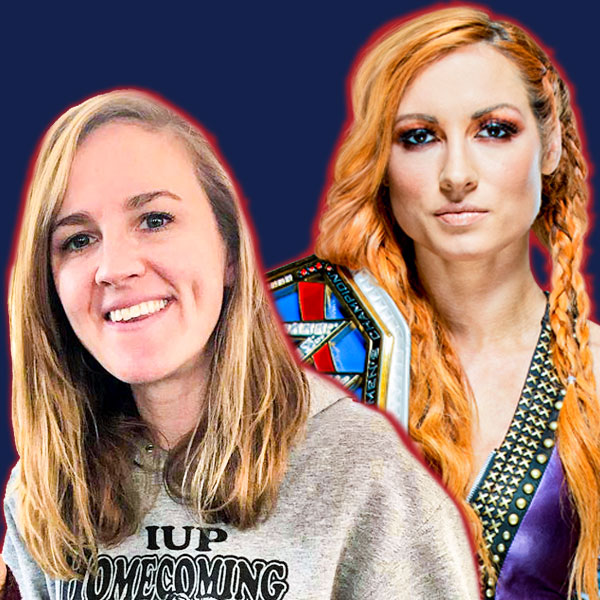 Kate Mannion and Becky Lynch