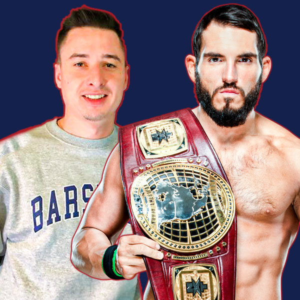 Mike Grinnell and Johnny Gargano
