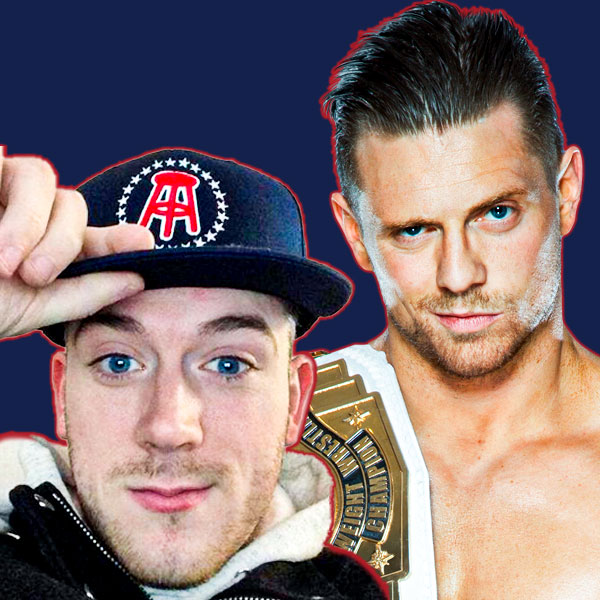 Matt Milmore and The Miz