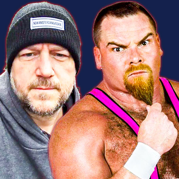 Rear Admiral Brian McGonagle and Jim the Anvil Neidhart