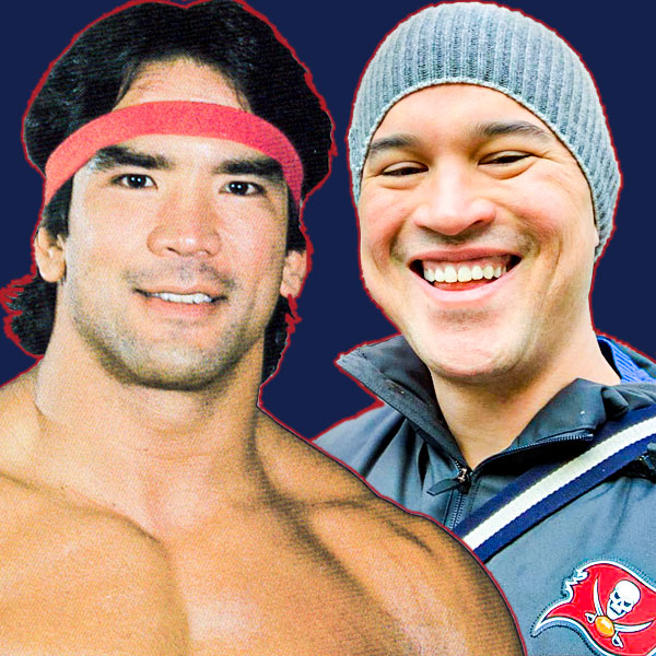Ricky The Dragon Steamboat and Steven Cheah