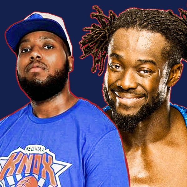 Tyler Trill Withers and Kofi Kingston