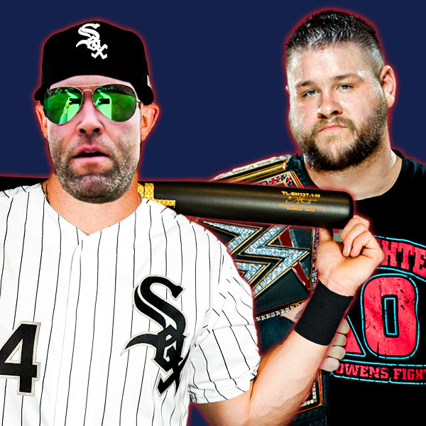 White Sox Dave Williams and Kevin Owens