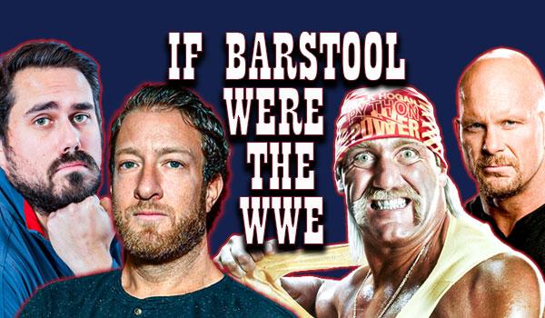 barstool sports wwe pro wrestling