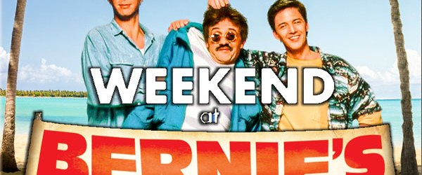 Weekend at Bernie's movie poster