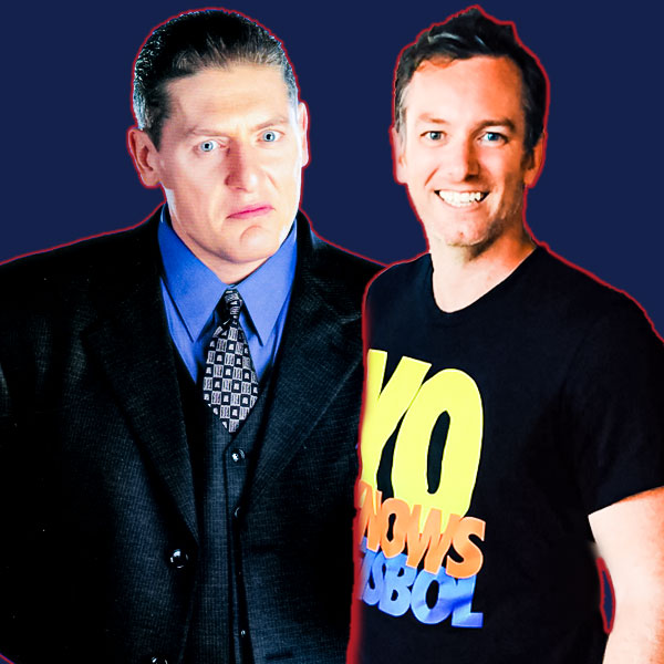 William Regal and Brendan Clancy