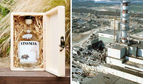 chernobyl vodka atomik