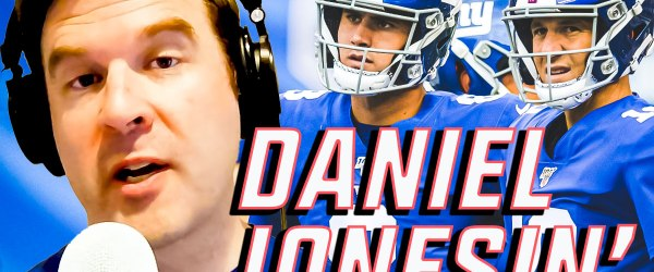ny giants daniel jones eli manning