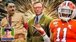 Taika Waititi in Jojo Rabbit, Daniel Craig in Knives Out, Clemson Tigers linebacker Isaiah Simmons